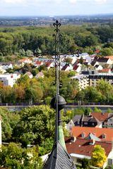 Oppenheim - Blick von der Katharinenkirche nach Osten
