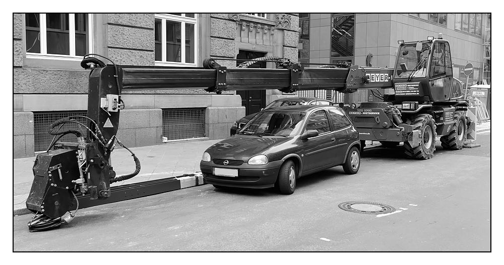 Optimale Parkraumnutzung