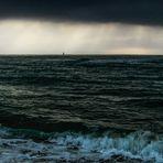 Orage sur la mer - Leucate -