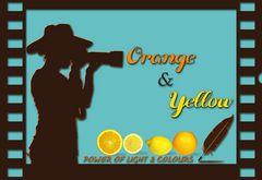 Orange and Yellow.......