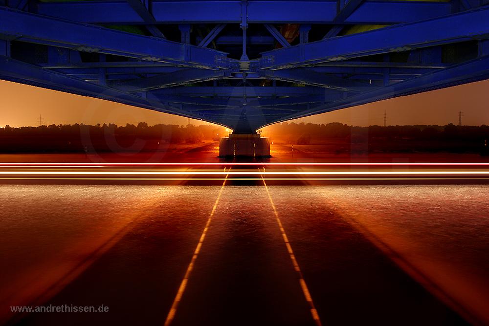 Orange Blue III