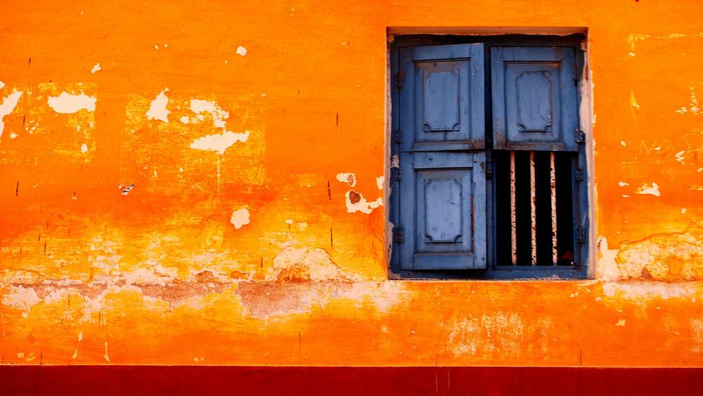 Orange Building W Window Photo Amp Image Architecture