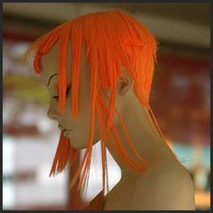 Orange Hairstyling