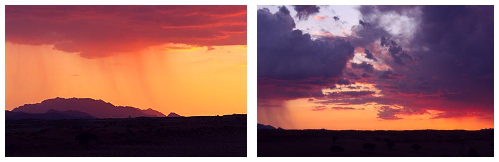 Orange rain, purple rain