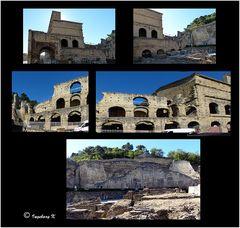 Orange - römisches Theater - das, was davon übrig geblieben ist