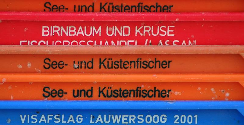 Orange, Rot und Blau