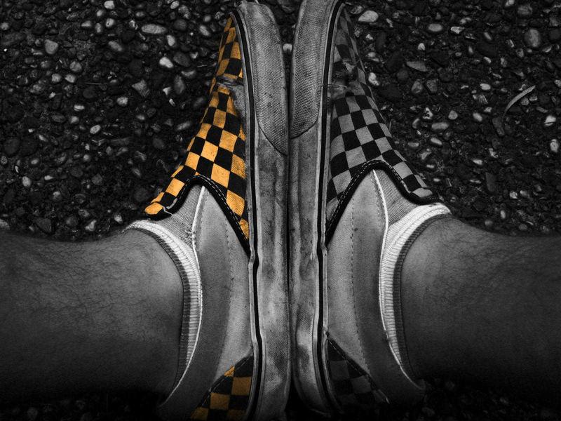Orange Shoe