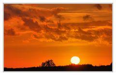 orange sky