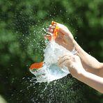 Orange Wasserbombe 1