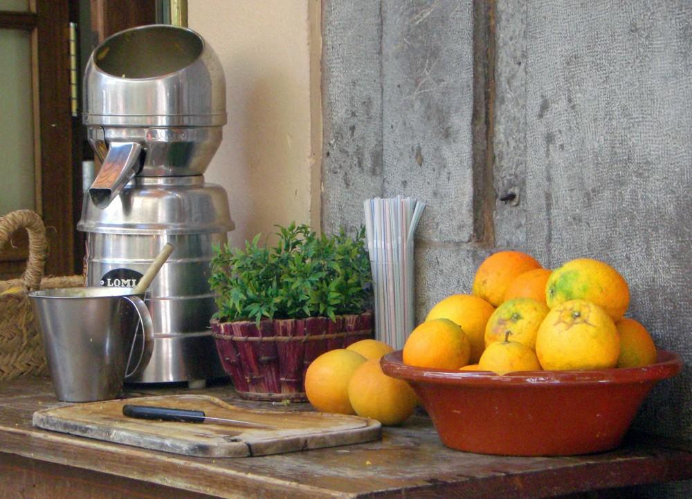 Orangen in Soller