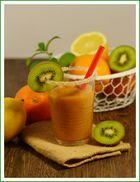 Orangen-Kiwi-Smoothie