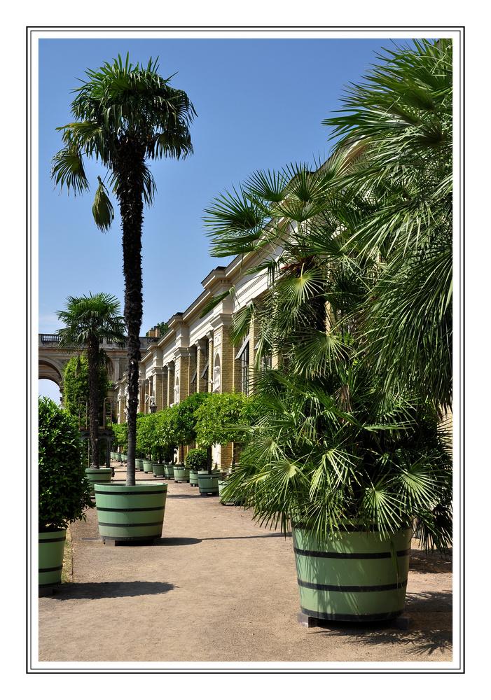 Orangerieschloss im Park von Sanssouci/Potstam............# 3