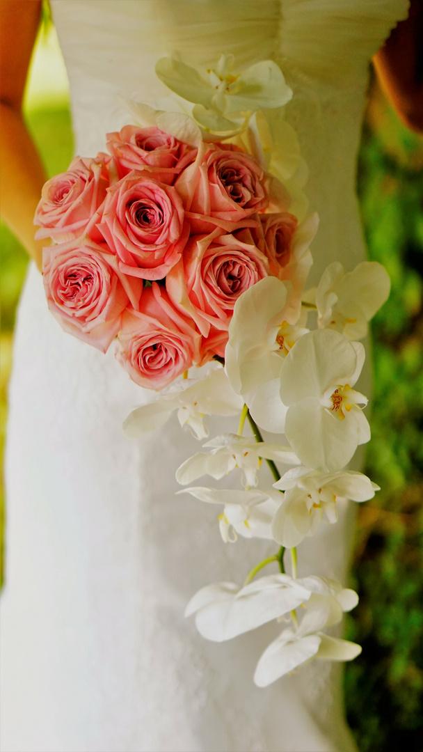 Orchideen Brautstrauss Foto Bild Hochzeit Wedding Bluten Bilder