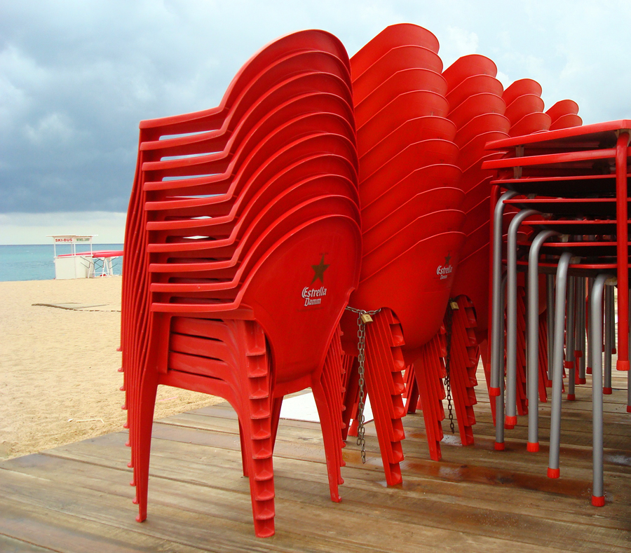 Ordnung am Strand - Santa Susanna ...