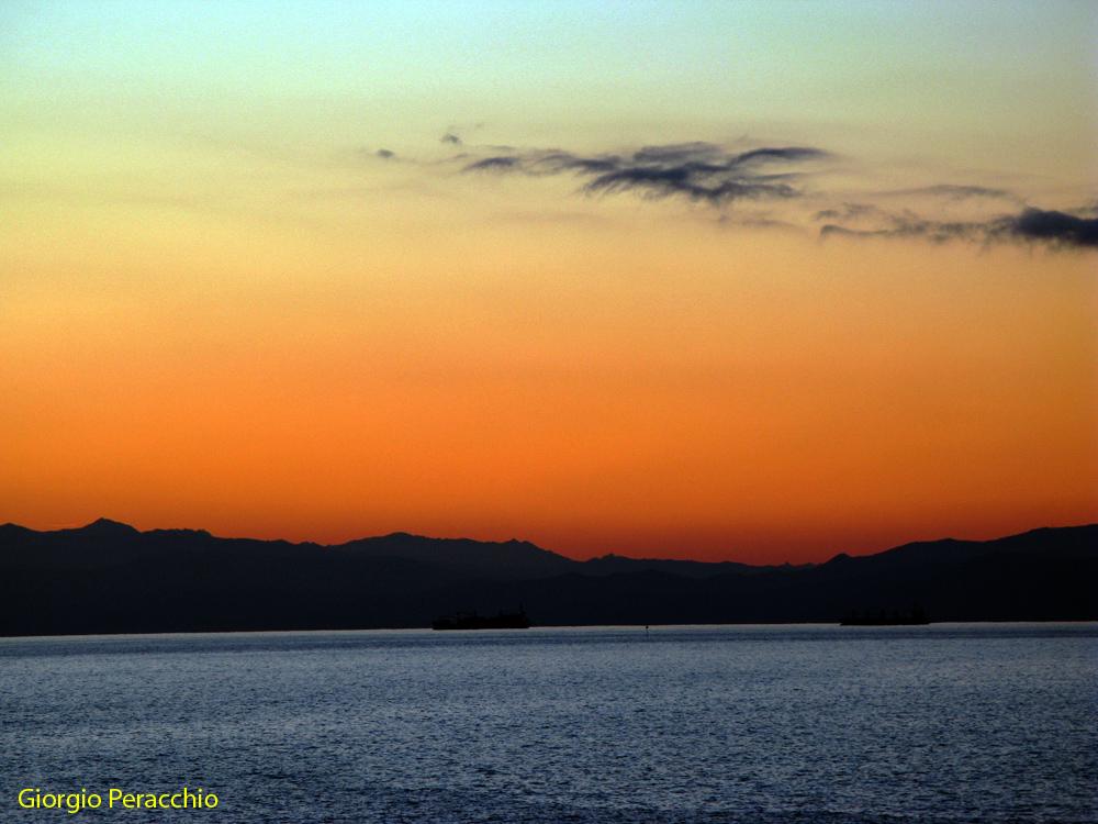 Ore 17.54 Arrivederci Liguria