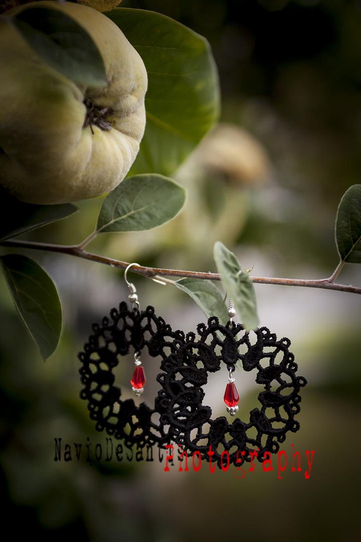 orecchini Makrame'