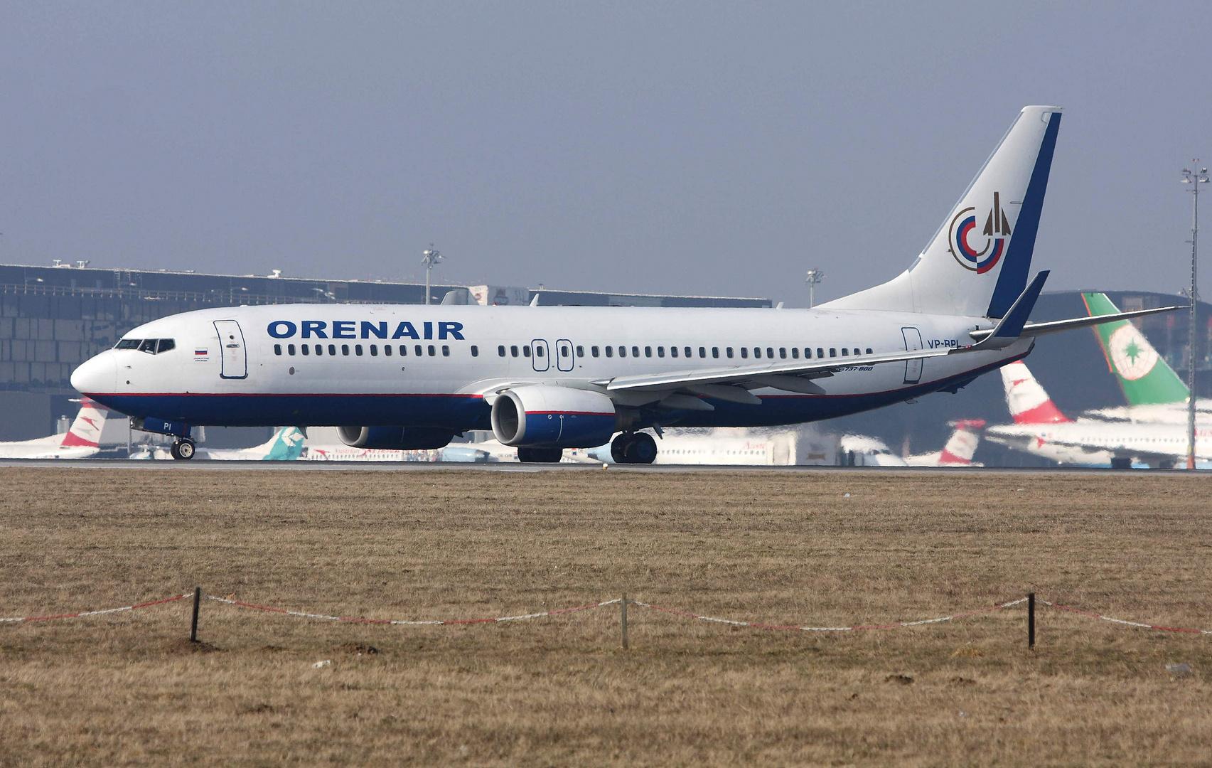 ORENBURG Airlines Boeing 737-83N
