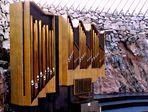 Organ in Temppeliaukio Lutheran Church - Helsinki, Finland
