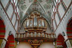 Orgel der Abteikirche in Brauweiler (2)
