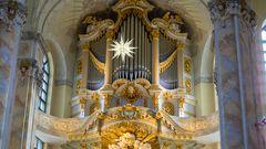 Orgel der Frauenkirche Weihnachten 2019