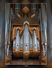 Orgel der Hallgrimskirche in Island