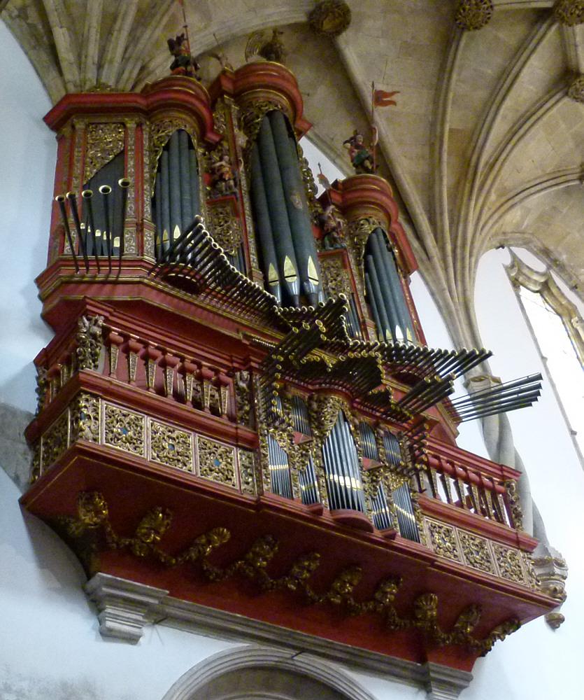Orgel der Kathedrale zu Coimbra