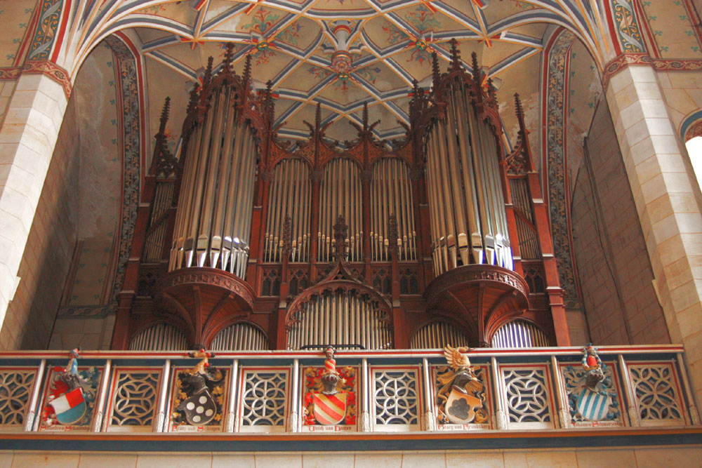 Orgel der Lutherkirche zu Wittenberg