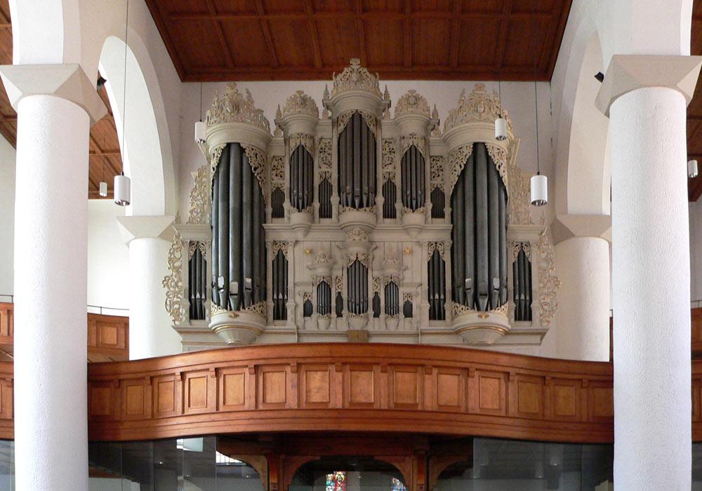 Orgel der Margarethenkirche in Gotha von Dieter Echterhoff