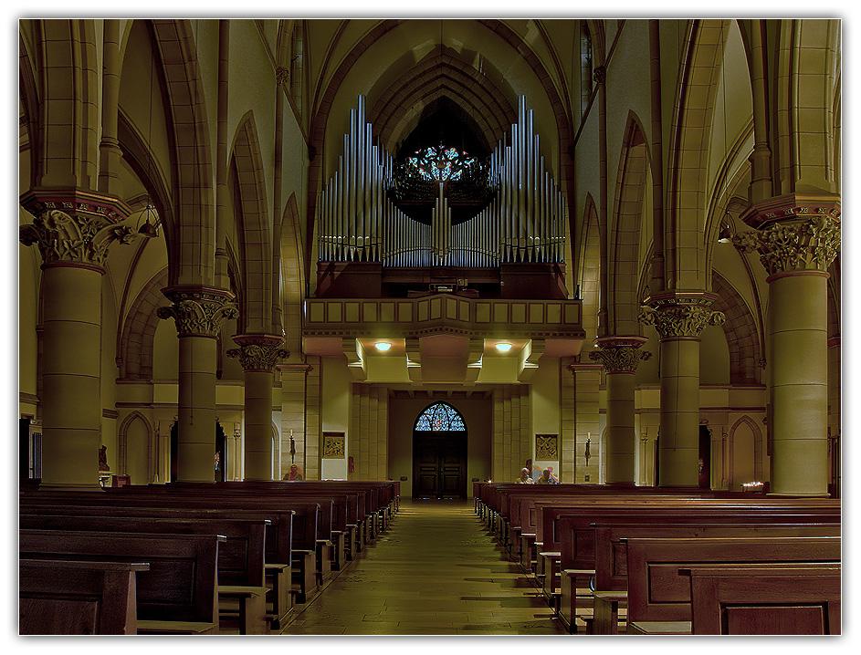Orgel der St. Augustinus Kirche