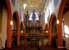 Orgel der Stadtkirche