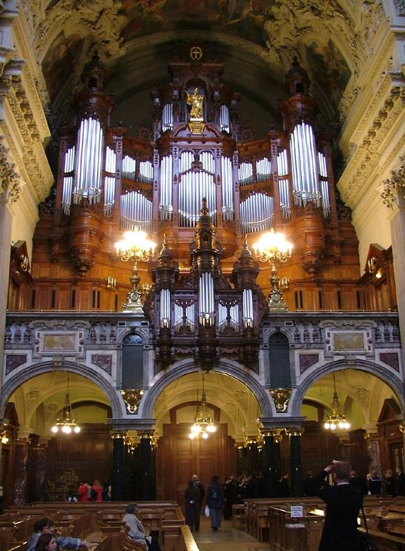 Orgel Im Berliner Dom Foto Bild Kunstfotografie Kultur Musik