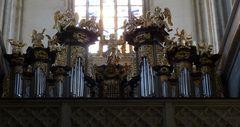 Orgel im Dom der Heiligen Barbara    / Kuttenberg