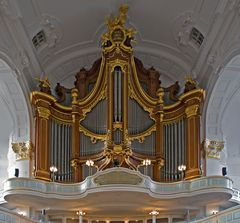Orgel im Hamburger Michel