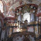 Orgel im Stift Wilhering /Österreich