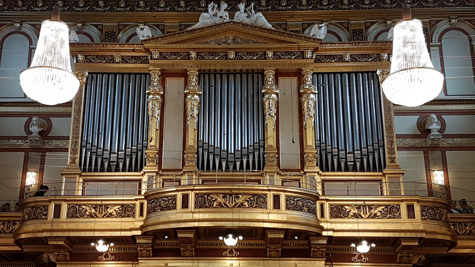 Orgel im Wiener Musikverein | organ of the Musikverein in Vienna