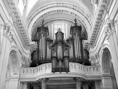 Orgel in Black&White