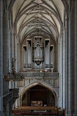 Orgel in St. Georg zu Nördlingen