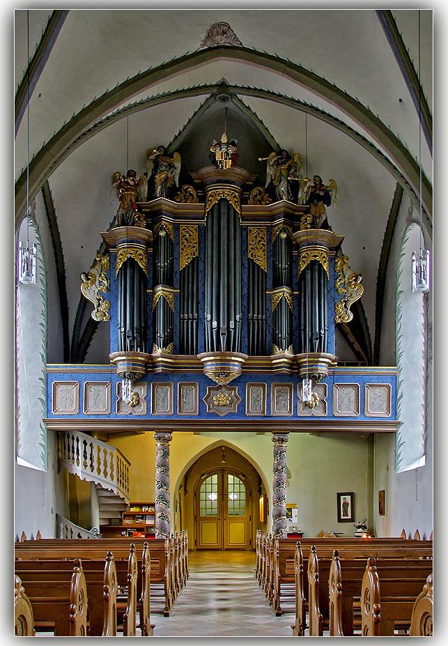 Orgel Peter & Paul Kirche