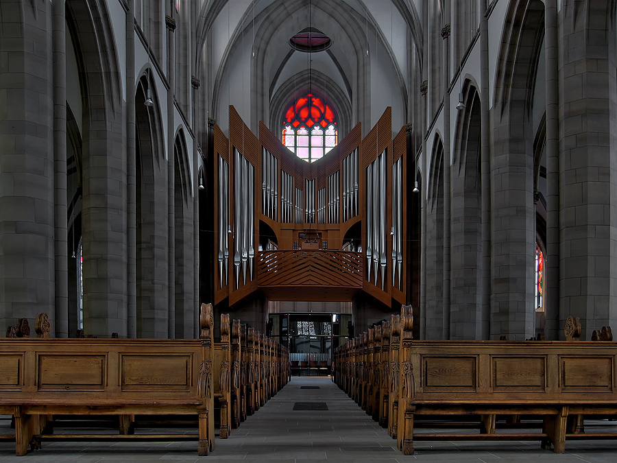 Orgel Salvatorkirche