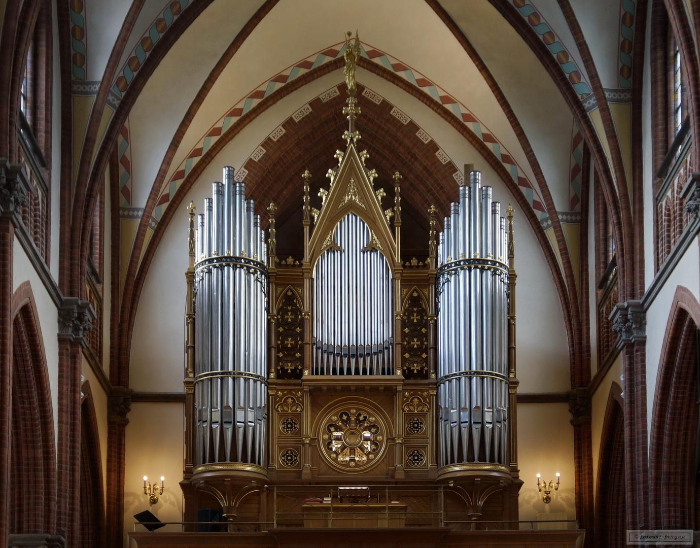 Orgel, Sundsvalls Gustav Adolfs kyrka