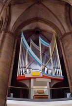 Orgelprospekt der Elisabeth-Kirche in Marburg, Lahn