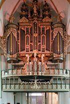 Orgelprospekt der St. Johannniskirche Lüneburg