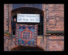 Oriental Art in Hamburgs Speicherstadt