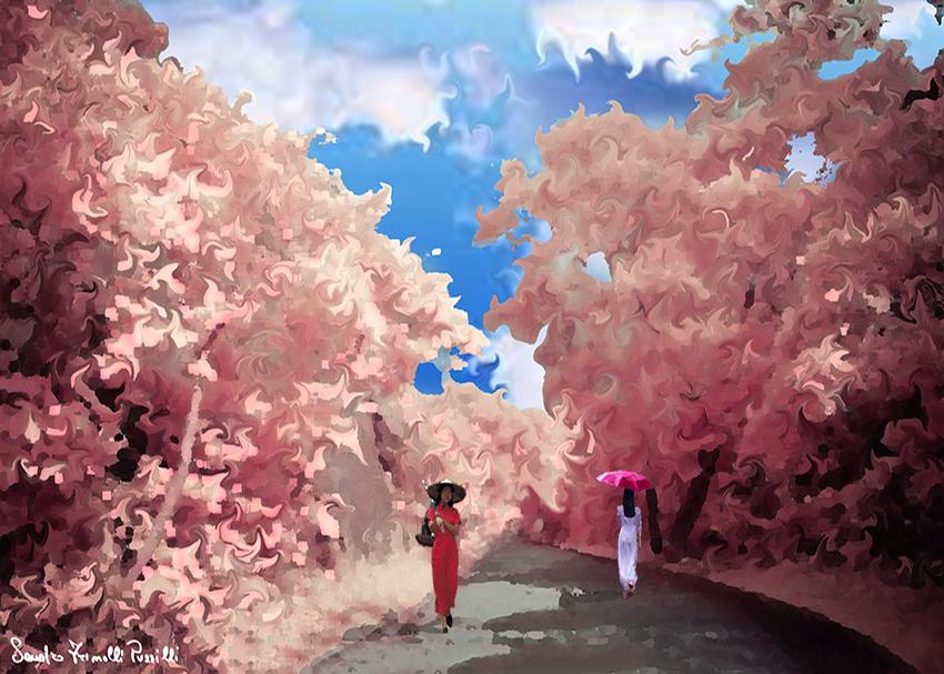 Oriental spring