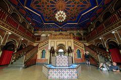 Orientalische Sauna .