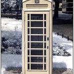 Original Englische Telefonzelle