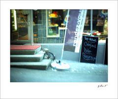 Original Wiler Bürgerwurst mit Hund