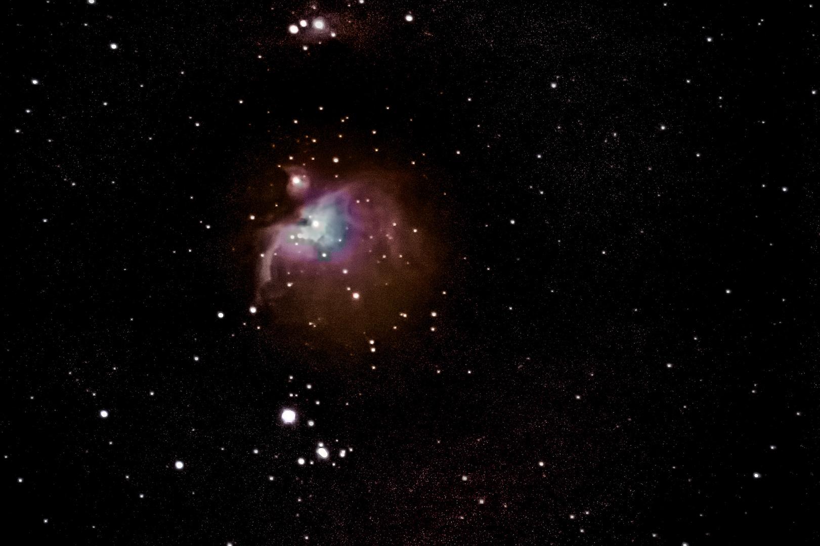 Orionnebel Experiment 2
