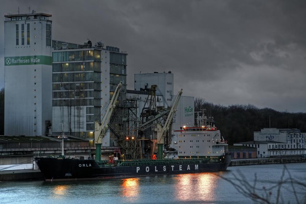 ORLA im Kieler Nordhafen