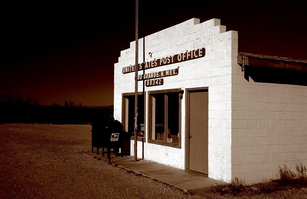 Orogrande Post Office, NM